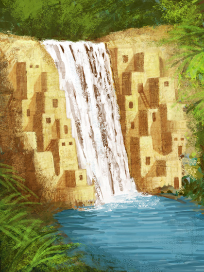 EOW #49 Waterfall City
